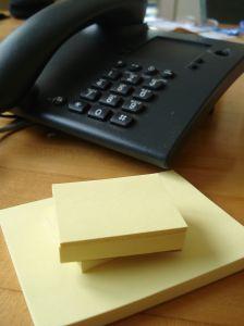 アメリカ企業の電話
