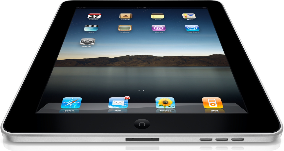 iPad...到着?