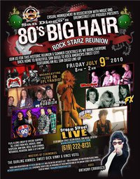 80′ Big Hair Rock Starz Reunion