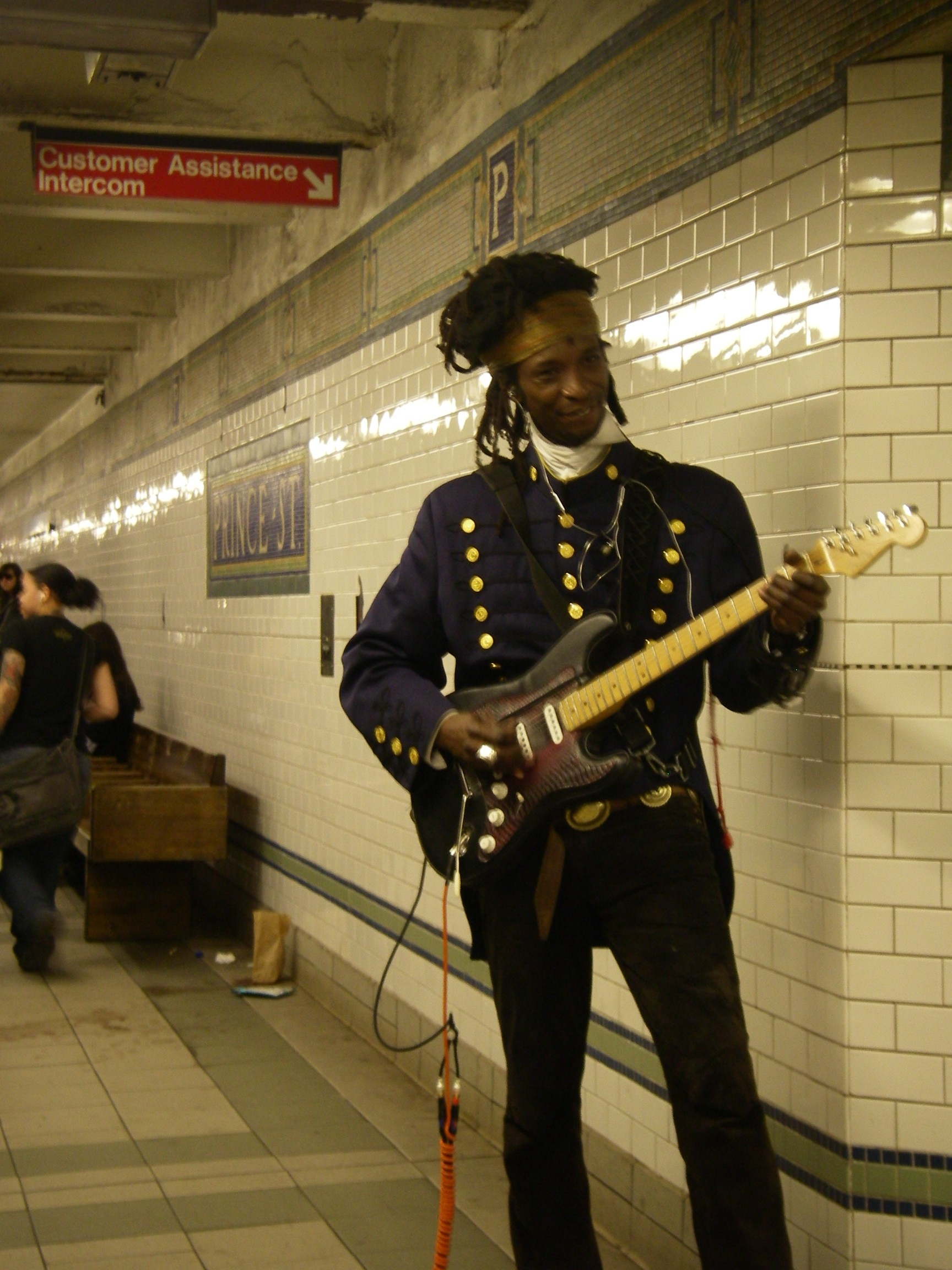 ニューヨーク ストリートミュージシャン