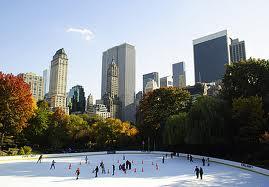 NYの冬の定番、アイススケート!