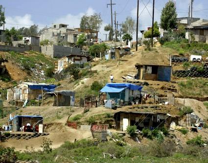 エンセナダ貧困