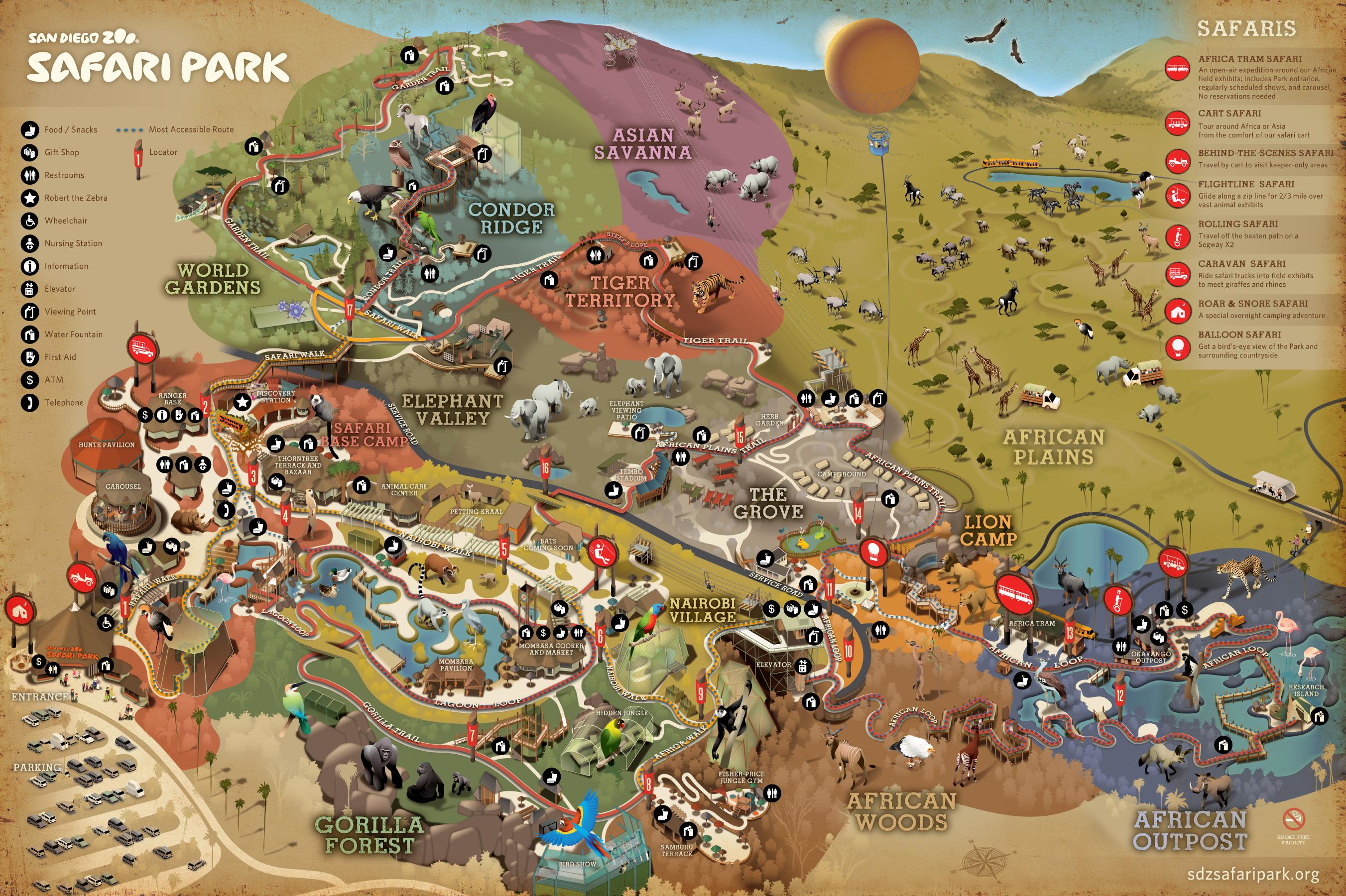 San Diego Zoo Safari Park(サンディエゴサファリパーク)