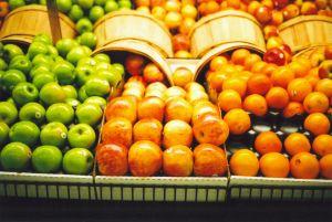 フュージョンしているスーパーマーケットたち