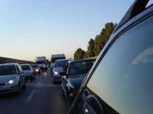 カナダの交通渋滞