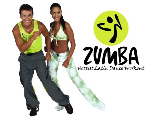 体を動かそう!Let's Zumba in Kansas!