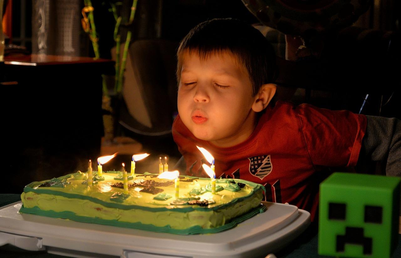 アメリカで子供の誕生日パーティ