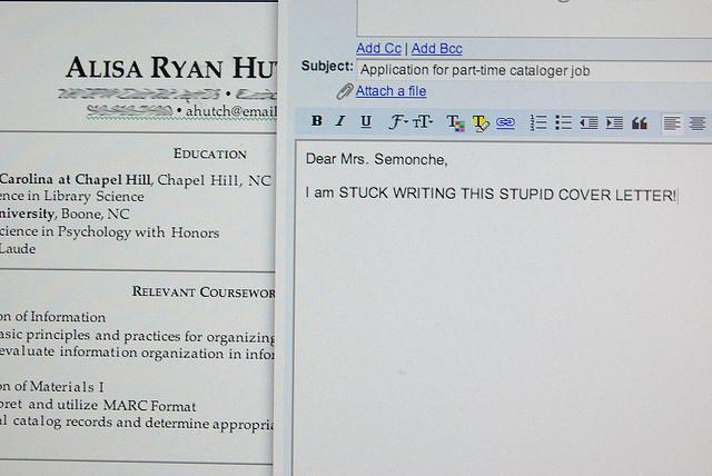 アメリカ企業転職大作戦 実践編 レジュメを書く カバーレターは必要か