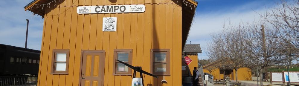 サンディエゴの穴場! Pacific Southwest Railway Museum