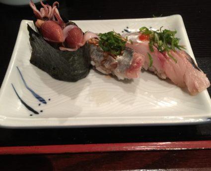 アメリカでお寿司