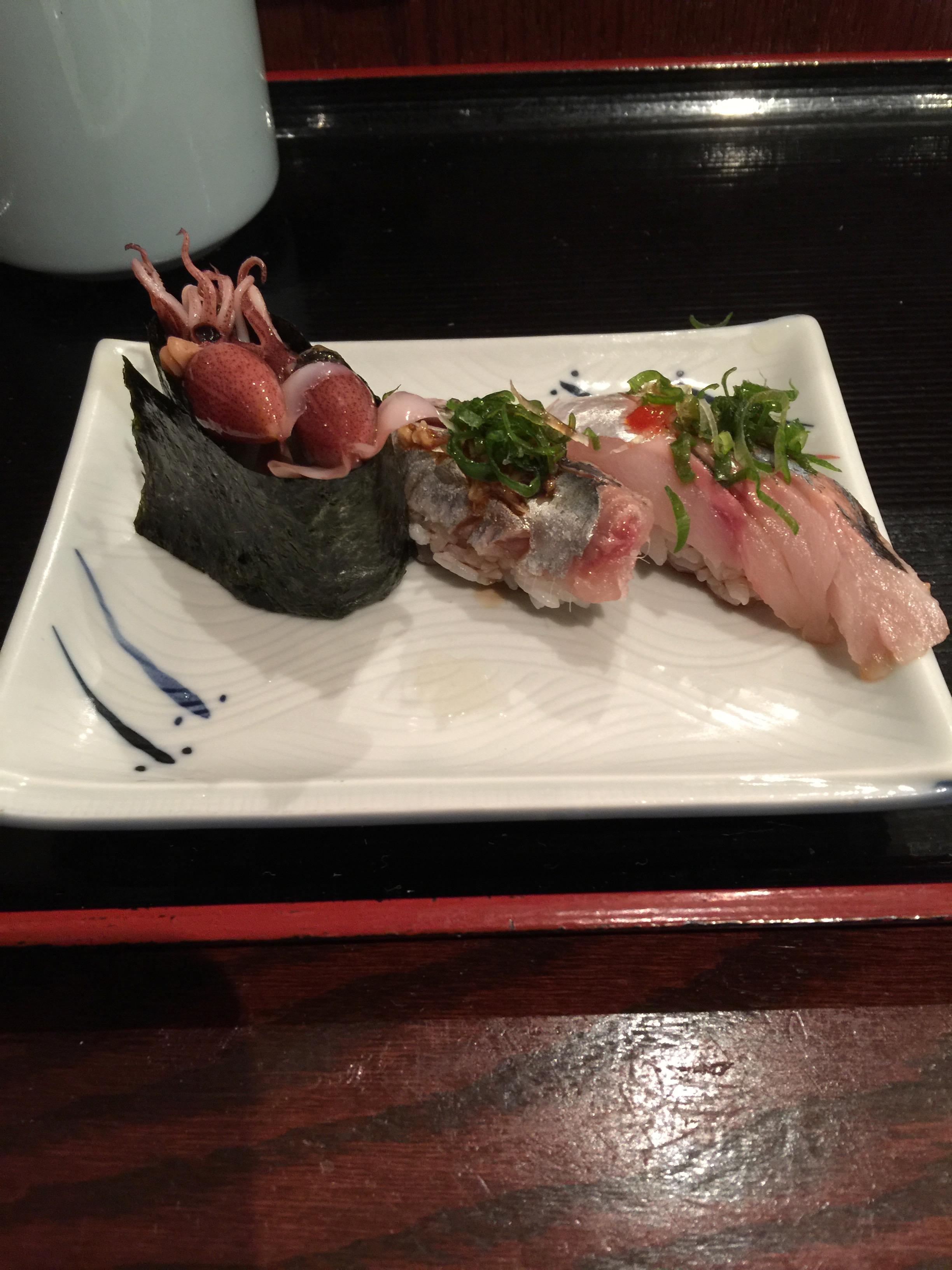 アメリカでお寿司を食べる
