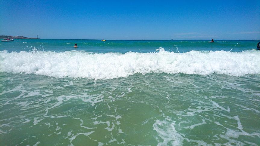アリゾナに一番近い海。